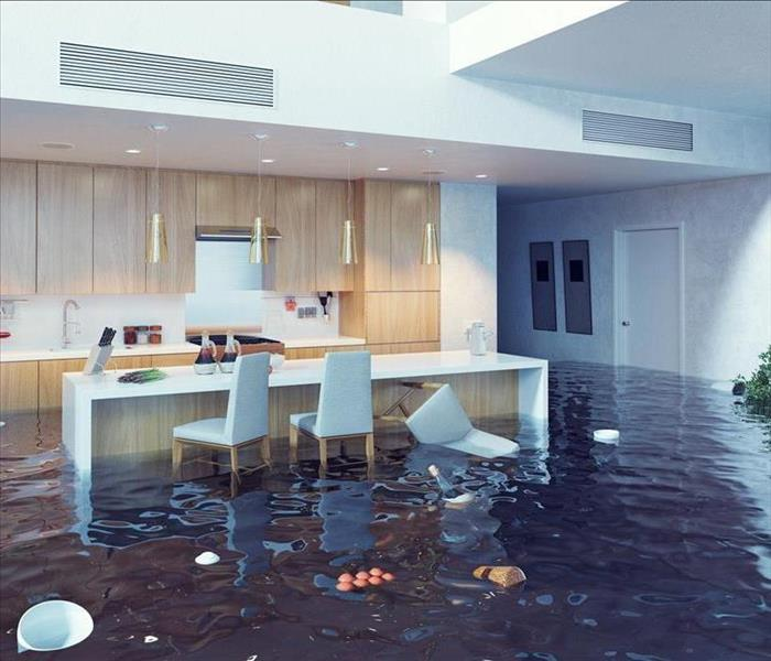Water Damage What to do After a Supply Line Break
